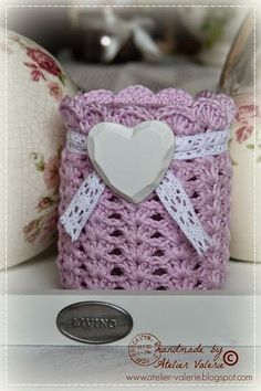 romantic little light with link to free pattern