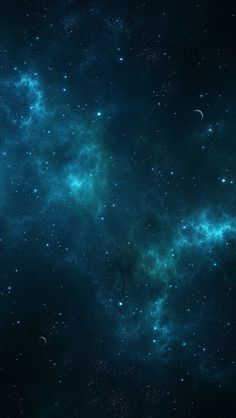Deep Blue Space iPhone 5(s) Wallpaper