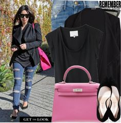 """Get the Look: Kim Kardashian"" by nastyaafanasova on Polyvore"