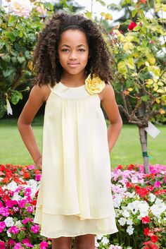 6380ed443c online shopping for Kids Dream Satin Bib Neckline   Chiffon A-line Big Girls  Flower Girl Dress from top store. See new offer for Kids Dream Satin Bib ...