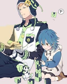 Aw look at the baby Aoba :3