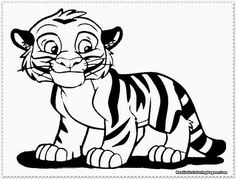 face tiger coloring page New Coloring Pages coloring 5