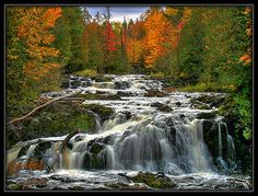 Copper Falls in Northern Wisconsin