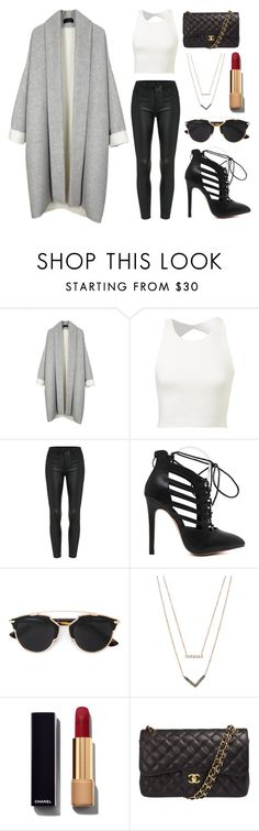 """Untitled #106"" by rodoulla97 on Polyvore featuring Christian Dior, Michael Kors, Chanel, women's clothing, women's fashion, women, female, woman, misses and juniors"