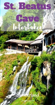 Visiting amazing Interlaken, and gorgeous St. Beatus Cave in Switzerland. Places To Travel, Places To See, Travel Destinations, Evian Les Bains, Best Of Switzerland, Switzerland Itinerary, Thailand Travel Guide, Christmas Markets, Beautiful Places To Visit