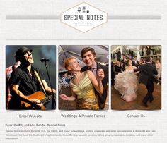 Check out Special Notes for Knoxville DJs, live bands & musicians! Http://www.specialnotes.net  @Ogle Entertainment-Knoxville Wedding DJ @Special Notes Entertainment-Knoxville, TN