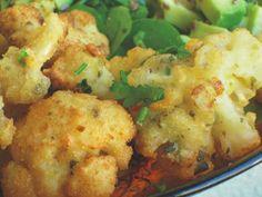 Recetas Veganas: Coliflor a la milanesa Milanesa, Vegetable Recipes, Vegetarian Recipes, Healthy Recipes, Enchiladas, Clean Eating, Healthy Eating, Good Food, Yummy Food