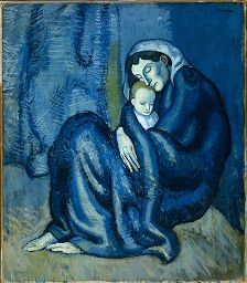 Picasso | Mother and Child | Harvard Art Museums