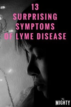 The Mighty community shares symptoms of Lyme disease people might not know about. Chronic Fatigue, Chronic Illness, Chronic Pain, Fibromyalgia, Lyme Disease Tick, Autoimmune Disease, Lymes Disease Symptoms, Bartonella Symptoms, Tick Fever
