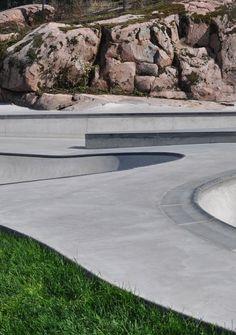 Skatepark, Olari, Janne Saario Landskape architecture, 2014 - Photo Janne Saario Landskape architecture