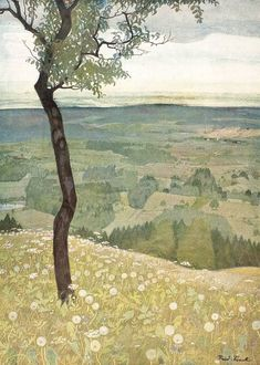 Rudolf Sieck View from the Hill 1935