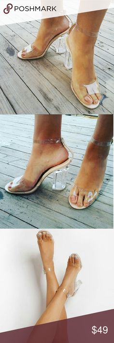 The Luna   Clear perspex heel Brand new Never been worn Comes in original  box No trades! Price is firm! Many more sizes Available True to size 4 inch  heel ...