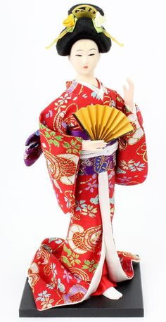 Etsy のFrom Japan Japanese Geisya Geisha Doll(ショップ名:SoldITJapan)