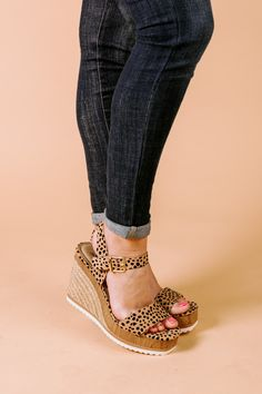 Wedges Outfit, Comfortable Wedges, Time Of Your Life, Ankle Strap Wedges, Wide Feet, Walk On, Shoe Sale, Espadrilles, Heels
