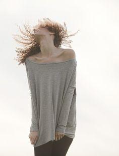 Oversized Raglan Long Sleeve Top Shirt Tees por lamixx en Etsy