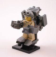Minifig all mech'd up! #LEGO