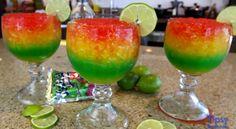 Recette de Margarita aux couleurs flamboyantes!