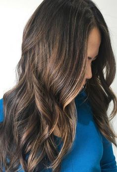 Subtle Brunette Babylights