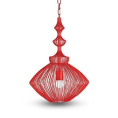 red pendant lamp hang over side tables great for a bohemian charm bohemian lighting