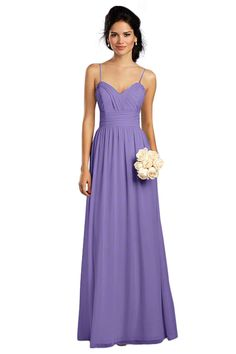 Alfred Angelo 7323 L Bridesmaid Dress in Lavender in Chiffon