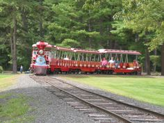 Look Park Steamer Train. Look Memorial Park located in Florence, Ma