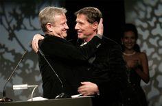 Der Zürcher Manager mit seinem Star: Freddy Burger und Udo Jürgens an einer Preisverleihung 2007.