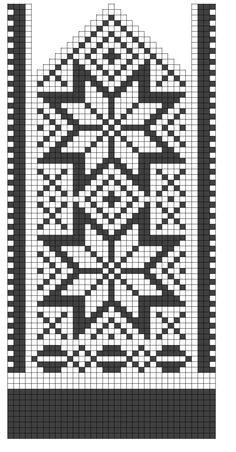 Krunkað á Klakanum - Knit on Ice: Ætli þetta sé ættgengt? by janis Knitted Mittens Pattern, Sweater Mittens, Crochet Socks, Knitting Socks, Knitting Charts, Knitting Stitches, Knitting Patterns, Chart Design, Fair Isle Knitting