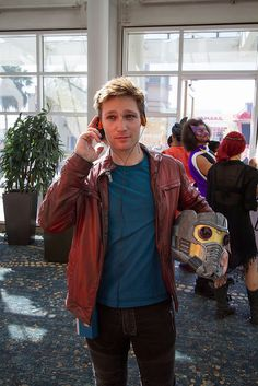 StarLord (Guardians of the Galaxy) Long Beach Comic Con 2014