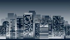 Tonal city scape