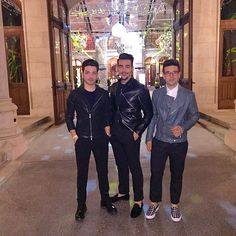 """Tonight from """"Fighting AIDS and Celebrating Life"""" event @lifeball_official #Vienna #IlVolo #GrandeAmore #Eurovision2015 //33"""