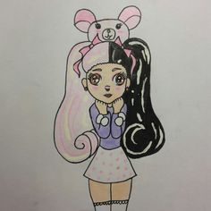 Melanie Martinez easy drawing