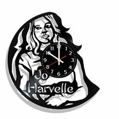 Original vinyl wall clock Jo Harvelle | Supernatural made... https://www.amazon.com/dp/B072LFC9G8/ref=cm_sw_r_pi_dp_U_x_XiMzAbVGAT5TC