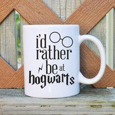 Je préfère être à Poudlard Harry Potter par TickledTealBoutique