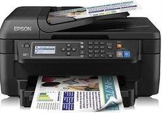 Epson Workforce WF-2650DWF All in One Wireless Printer with Fax Duplex