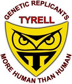 Here is the insignia for the Tyrell Corporation from the film Blade Runner Tyrell Corporation Insignia Film Logo, Sci Fi Films, Shadowrun, Ferrari Logo, Blade Runner, Juventus Logo, Street Art, Owl Tattoos, Geek Stuff