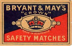 CROWN SAFETY MATCHES