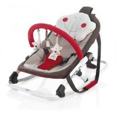 Jané Fold #Rocker Baby Seat-Smiley Face Pattern