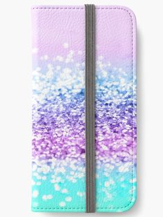 """Unicorn Girls Glitter #18 #shiny #decor #art"" iPhone Wallets by anitabellajantz 