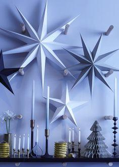 Une décoration de Noël effet givré