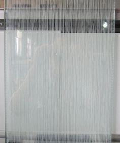 定做5+5夹丝玻璃艺术玻璃夹层玻璃屏风电视背景拉丝纹白-淘宝网