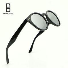 33ac55bcde915 Sunglasses Men Brand Designer Round HD Polarized For Women Oculos Feminino  De Sol Masculino Lunette Ray 2180
