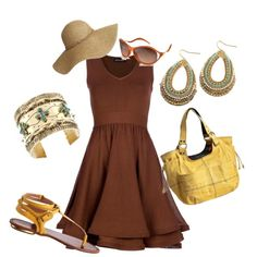 summer fare, created by nsteed on Polyvore