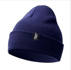 8dd0c3c3ed7 Letter True Casual Beanies for Men Women Fashion Knitted Winter Hat Solid  Color Hip-hop