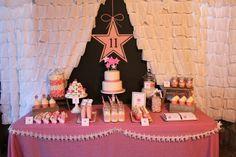 Under the Stars Tween / Teen Girl Birthday Party via Karas Party Ideas #star #sparkle #tween #pink #girl #birthday #party #idea (19)