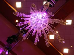 Light up your party with the perfect chandelier from #EventuresInc ~ #party #wedding #lighting #okc