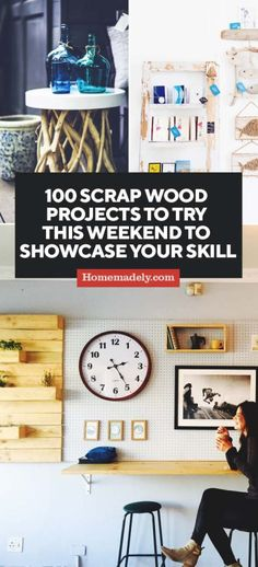 100 Scrap Wood Projects to Try This Weekend to Showcase your Skill