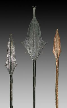Spear currency, Mbole people, Congo.