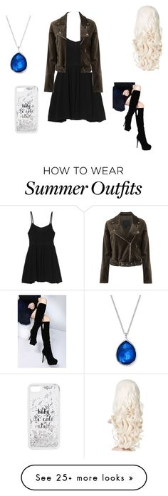 """Summer outfit 24"" by estrellaojeda456 on Polyvore featuring MINKPINK, Ippolita, Paige Denim, WithChic and Kate Spade"