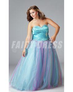 Sweetheart A-line Sleeveless Floor-length Tulle Plus Size Prom Dresses Prom Dresses Under 100, Prom Dresses 2016, Unique Prom Dresses, Quinceanera Dresses, Dresses Uk, Formal Dresses, Formal Wear, Party Dresses, Glamour Dresses