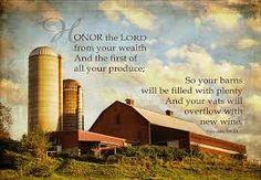 Prov 3: 9-10